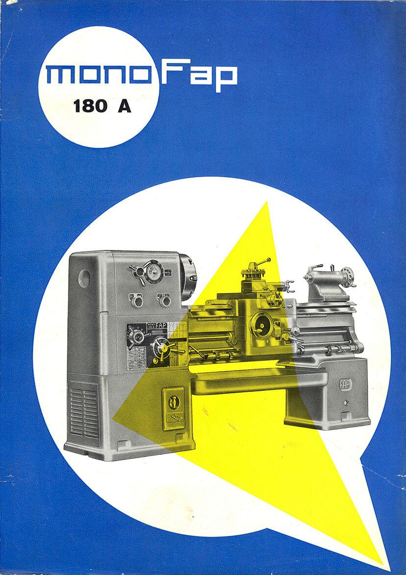 Anselmi Monofap 180 A Tornio Manuale in vendita - foto 1