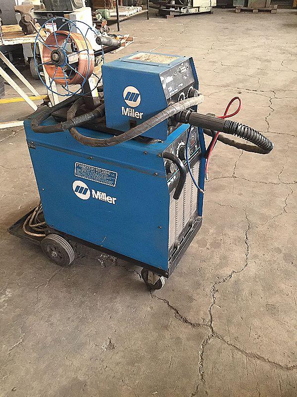 Saldatrice a filo Miller Blu Pak 35 in vendita - foto 1