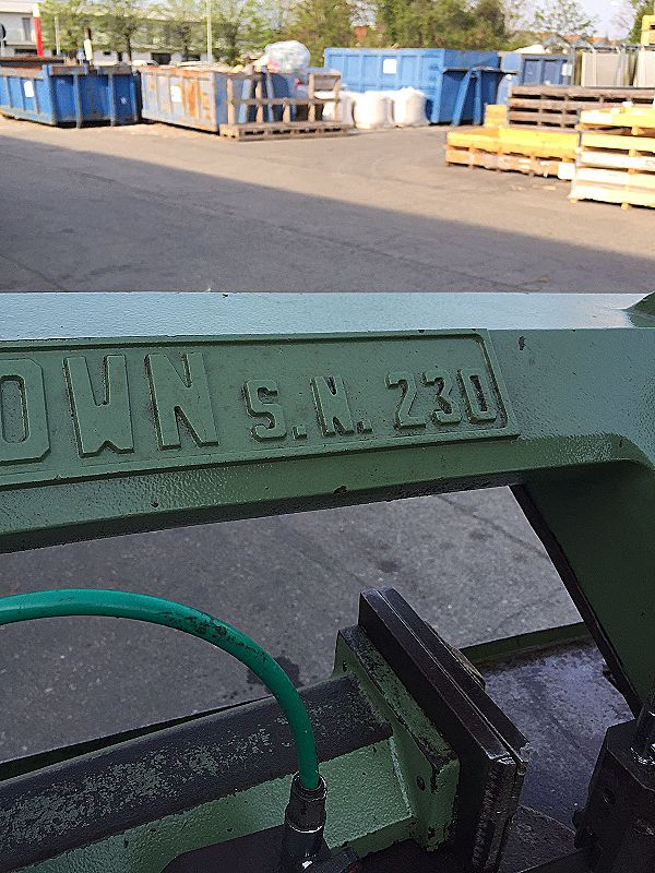 Sega nastro Pedrazzoli Brown 230 in vendita - foto 7