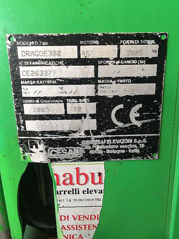 Carrello elevatore 30 quintali Diesel in vendita - foto 2