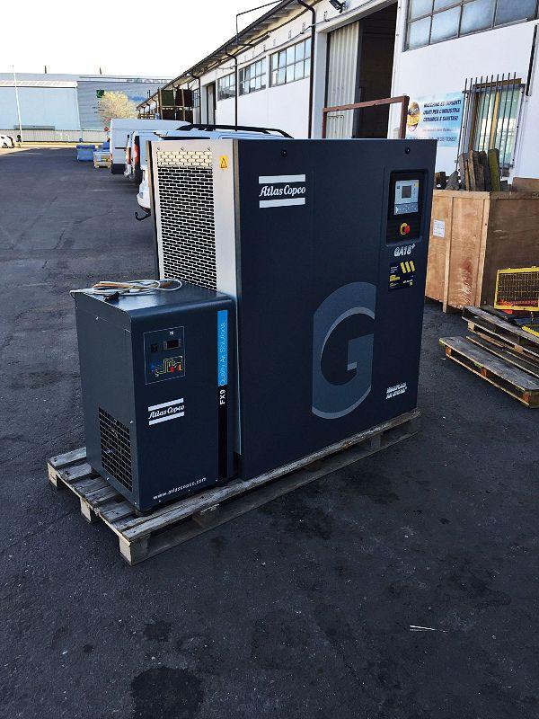 Compressore Atlas Copco GA 18+ in vendita - foto 7