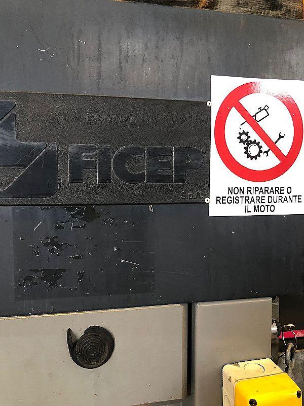 Punzonatrice FICEP 404 N combinata in vendita - foto 7
