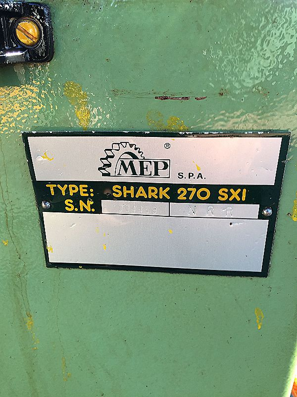 Sega a nastro 270 MEP Shark SXI usata in vendita - foto 7