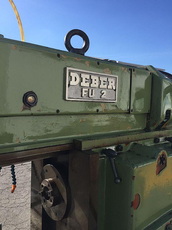Fresatrice Deber FU 2 visualizzata in vendita - foto 6