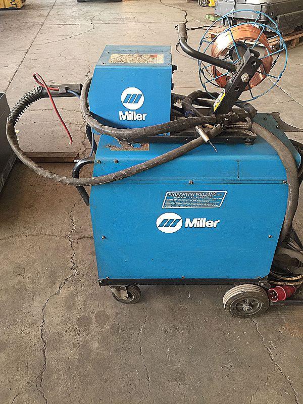 Saldatrice a filo Miller Blu Pak 35 in vendita - foto 3