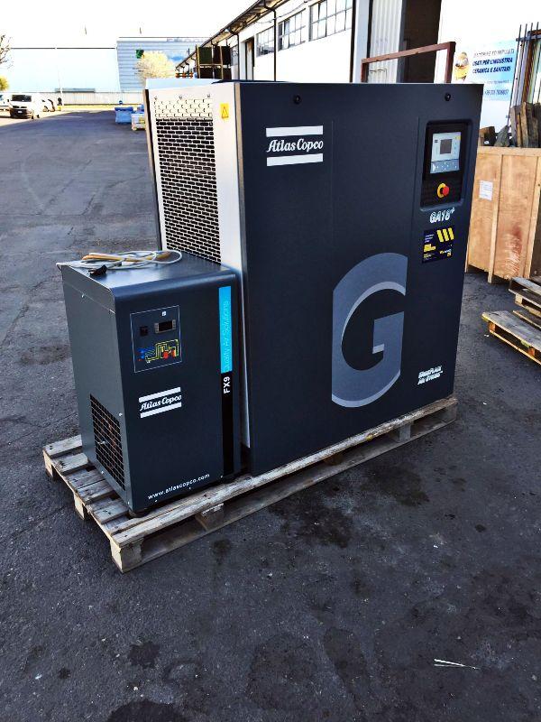 Compressore Atlas Copco GA 18+ in vendita - foto 1