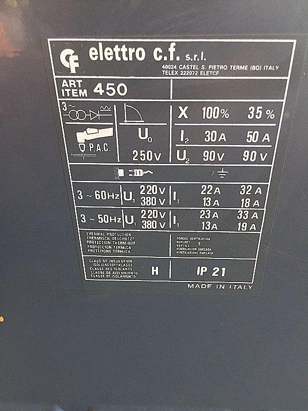 Taglio plasma modello 50 Elettro in vendita - foto 3