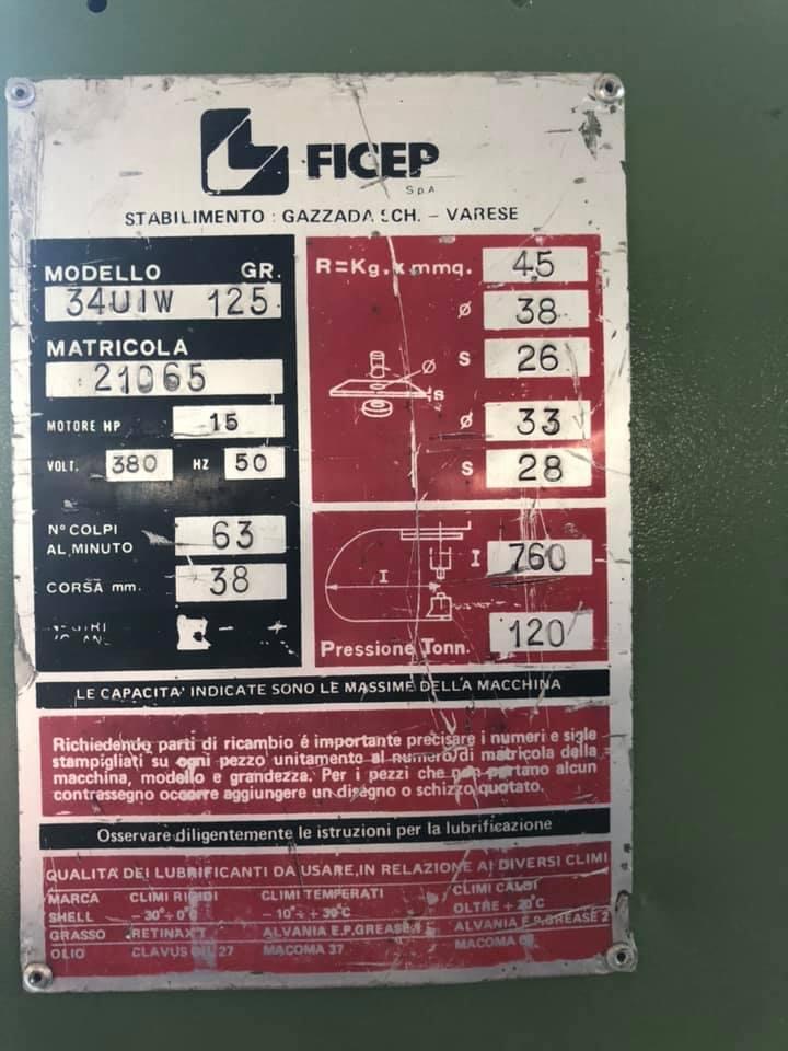 FICEP GR 125 in vendita - foto 2