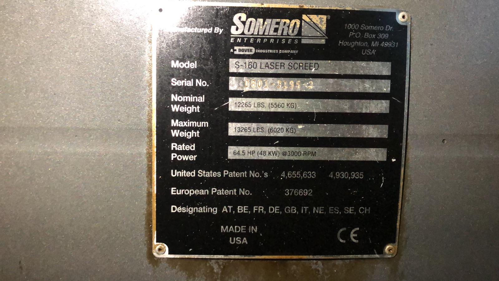 Laser Screed Somero S-160 in vendita - foto 6