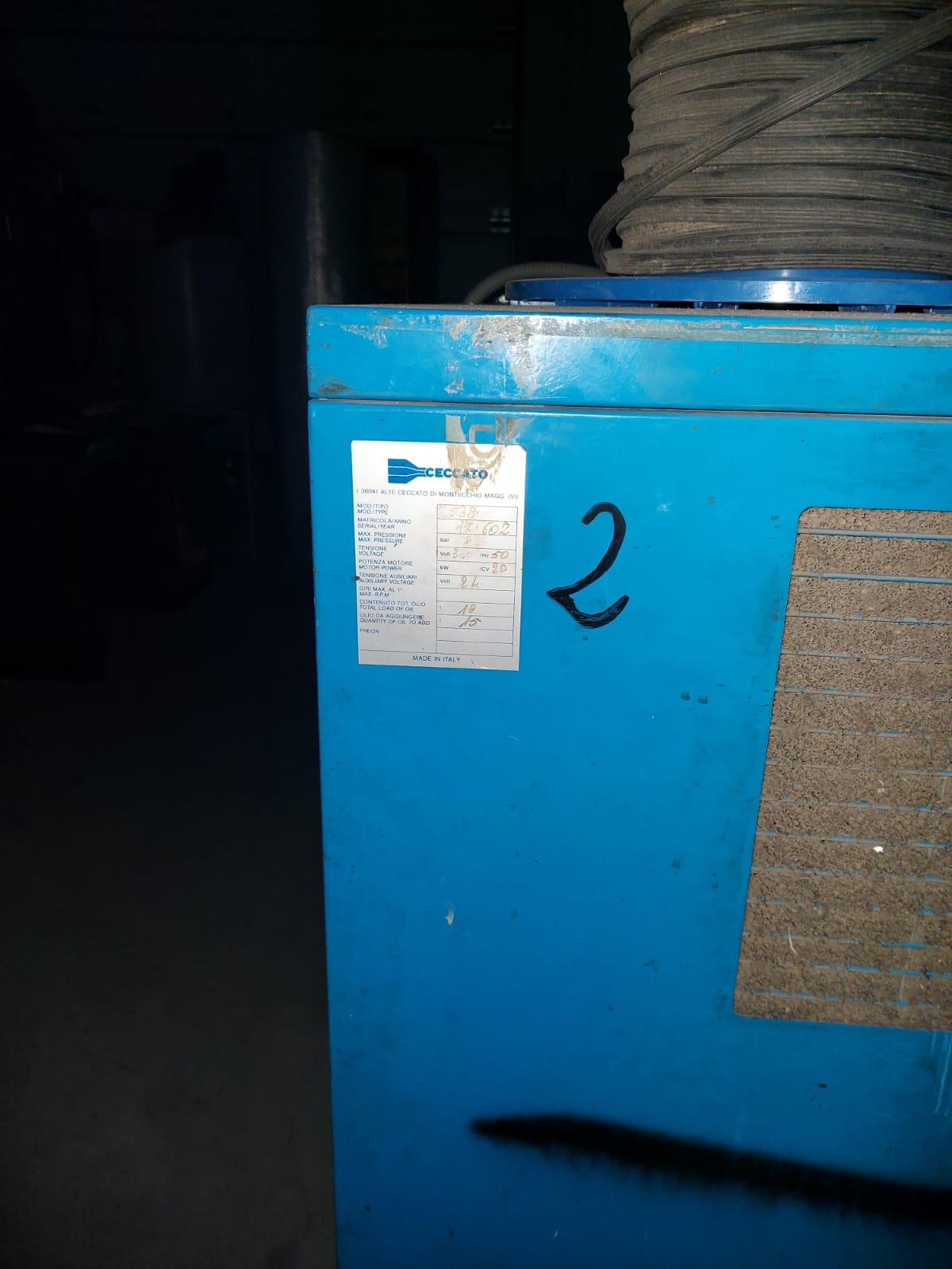 COMPRESSORE CECCATO CRA20 in vendita - foto 4