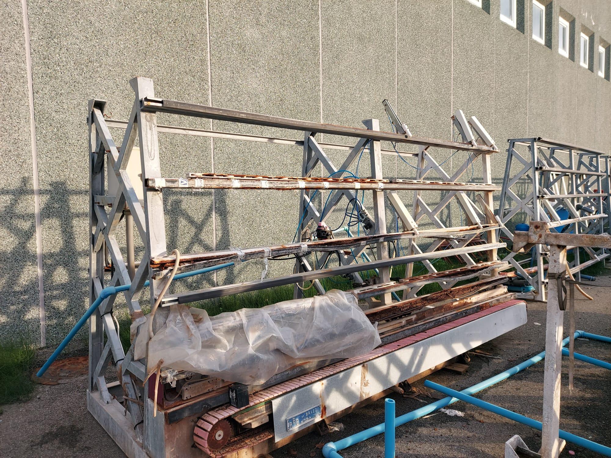 macchina taglio vetro blindato in vendita - foto 6