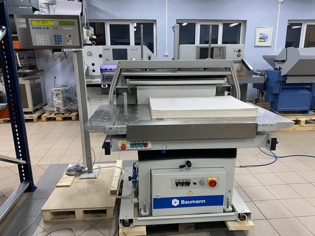 Paper jogger with weighing system Baumann BSB 3L pro in vendita - foto 2