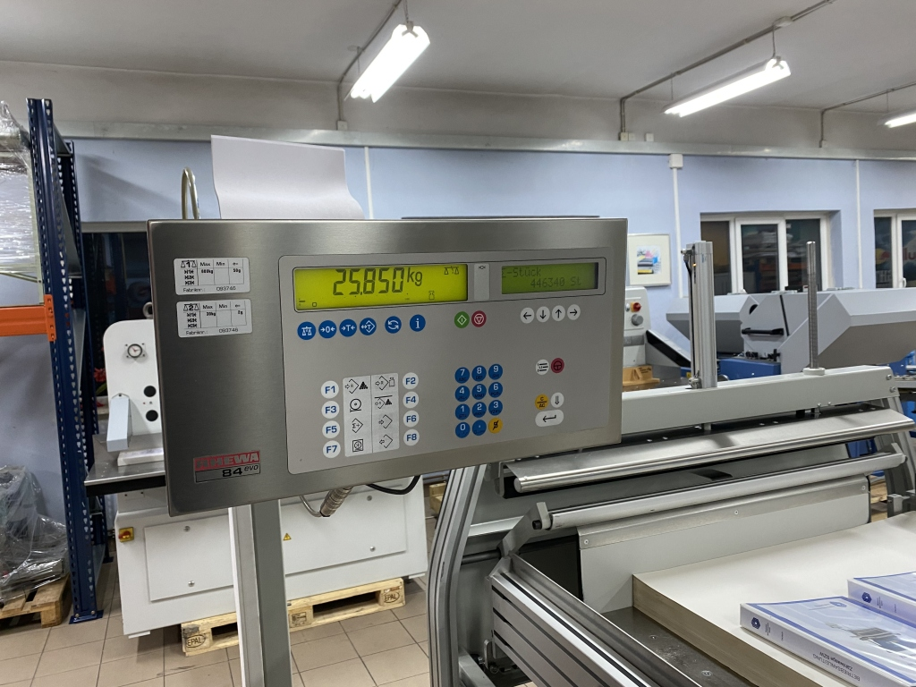 Paper jogger with weighing system Baumann BSB 3L pro in vendita - foto 9