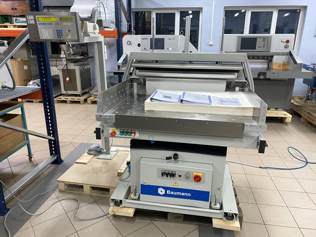 Paper jogger with weighing system Baumann BSB 3L pro in vendita - foto 1