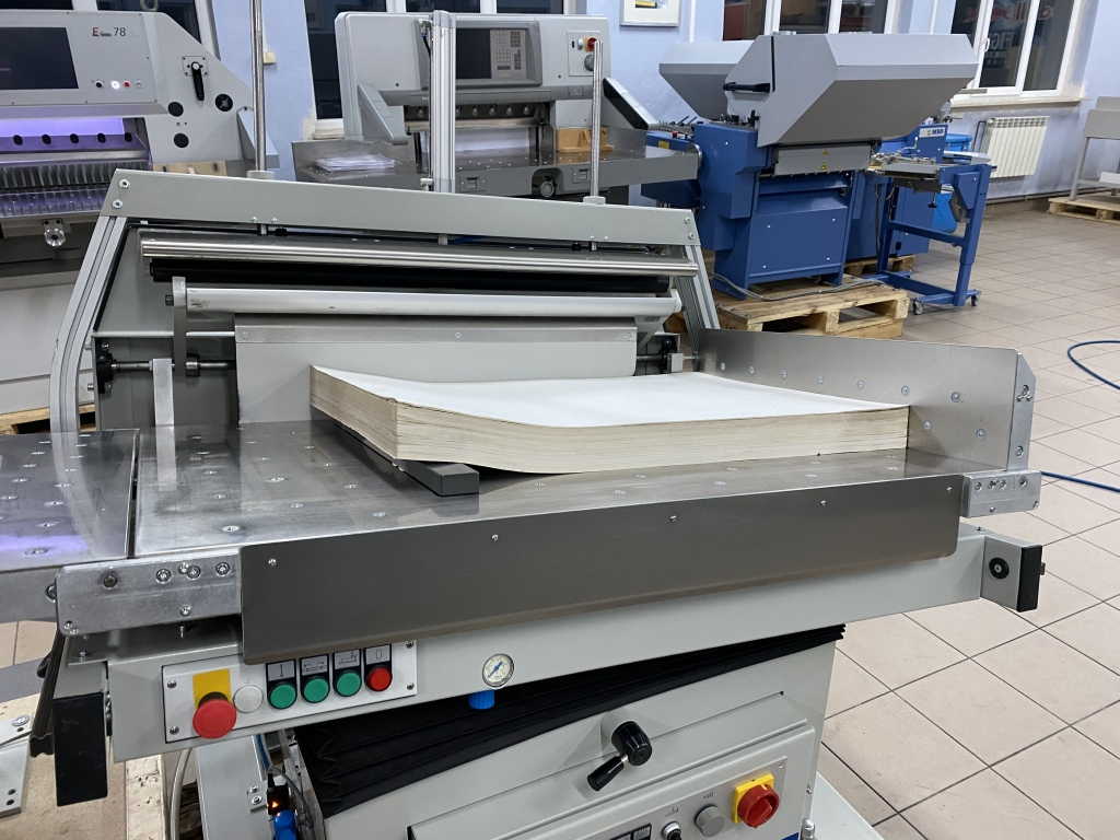 Paper jogger with weighing system Baumann BSB 3L pro in vendita - foto 5