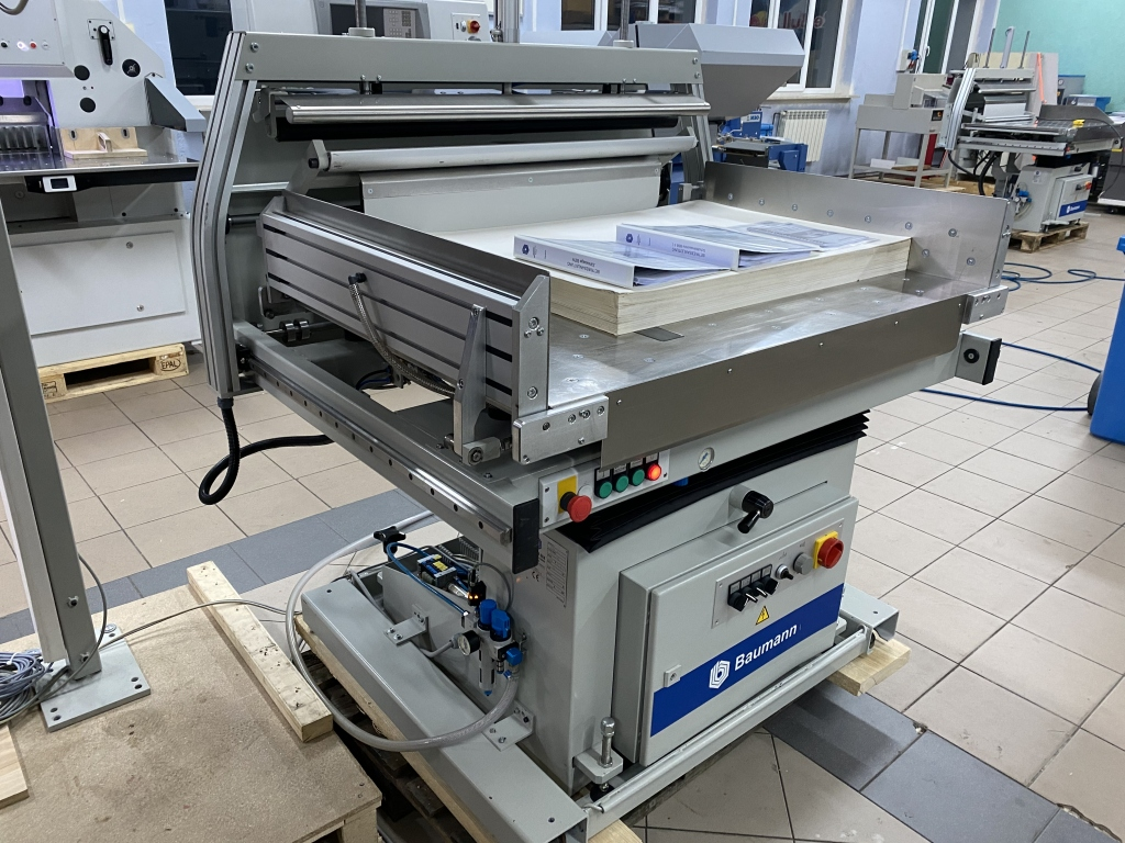 Paper jogger with weighing system Baumann BSB 3L pro in vendita - foto 8