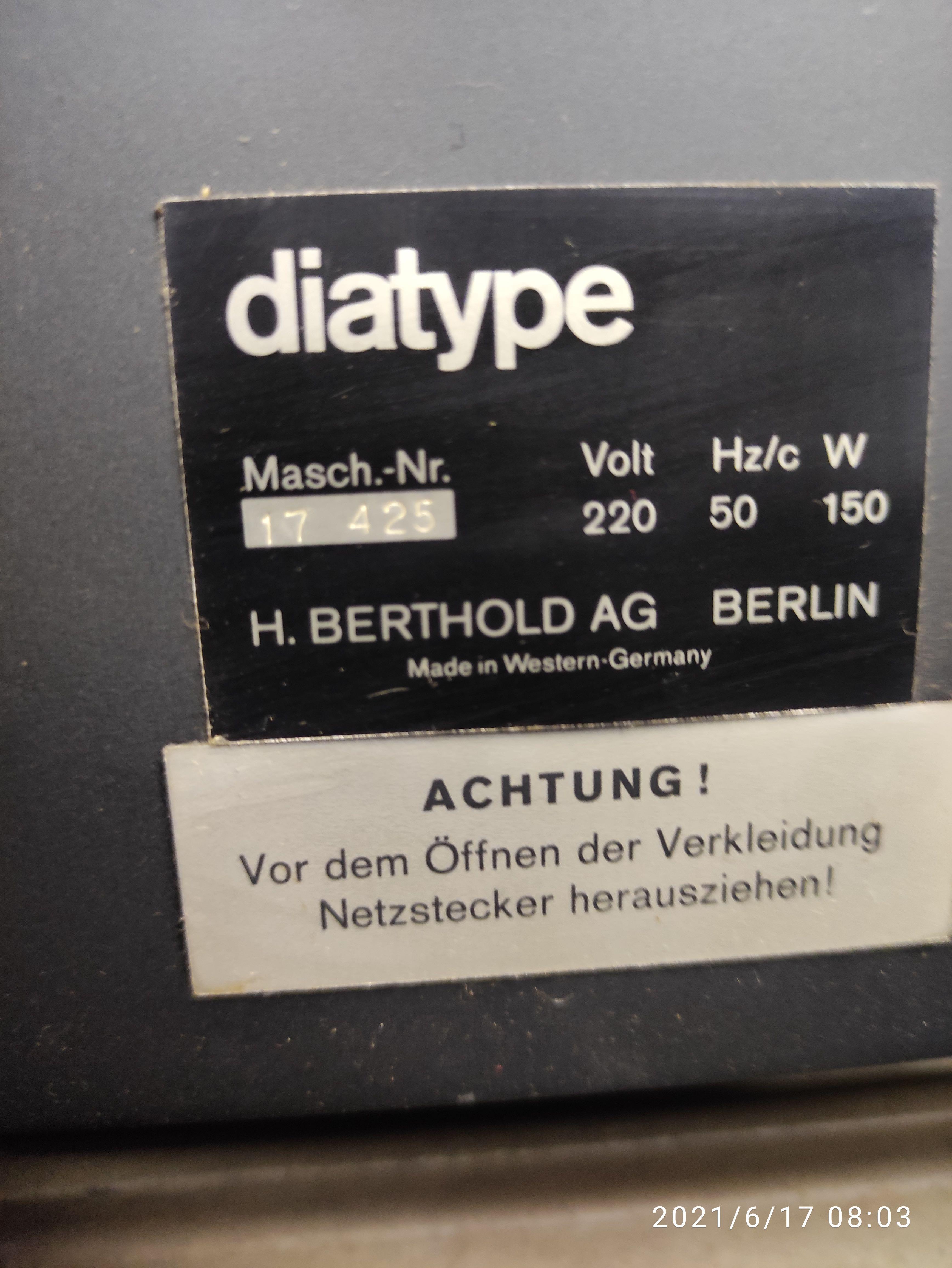 DIATYPE  in vendita - foto 5