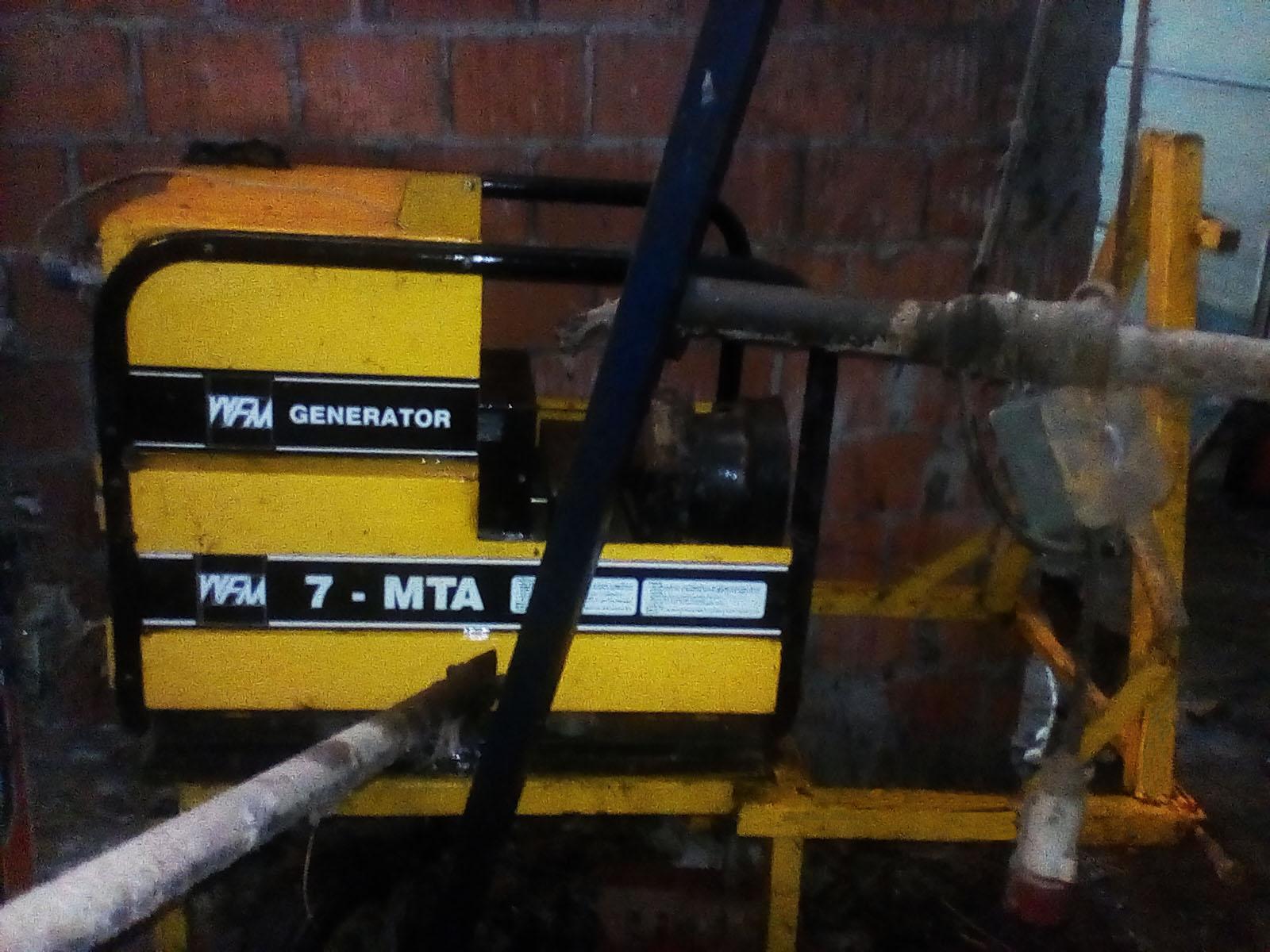 Generatore da collegare al trattore in vendita - foto 1