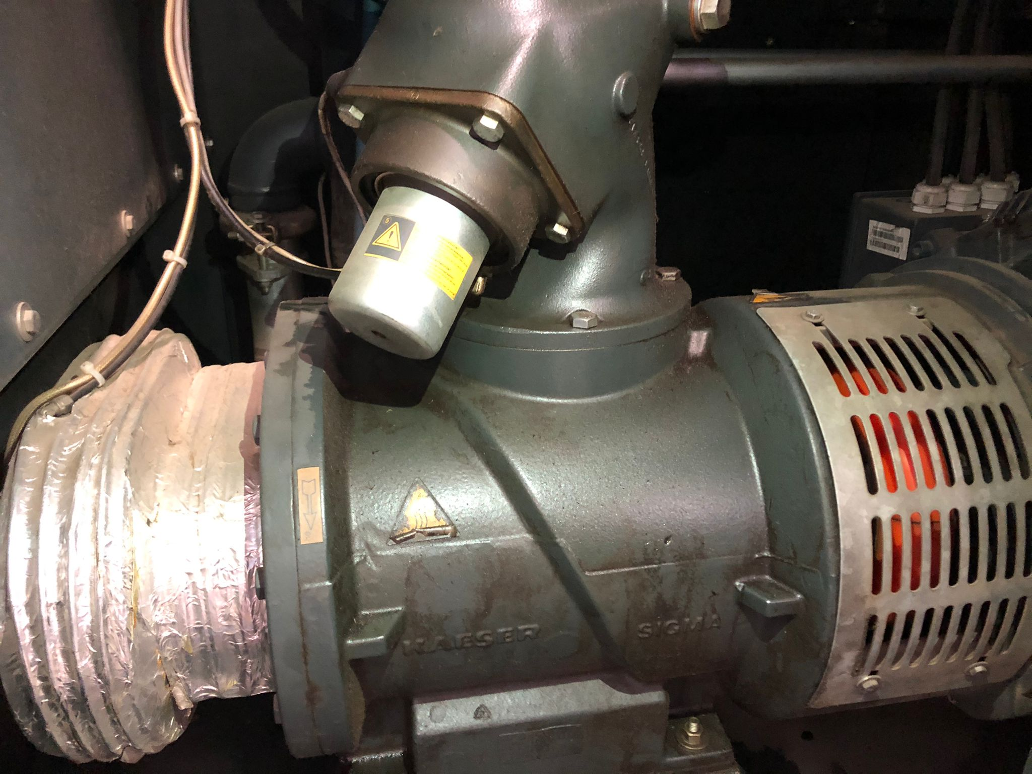 Compressore Kaeser CSDX162 - 90KW in vendita - foto 3