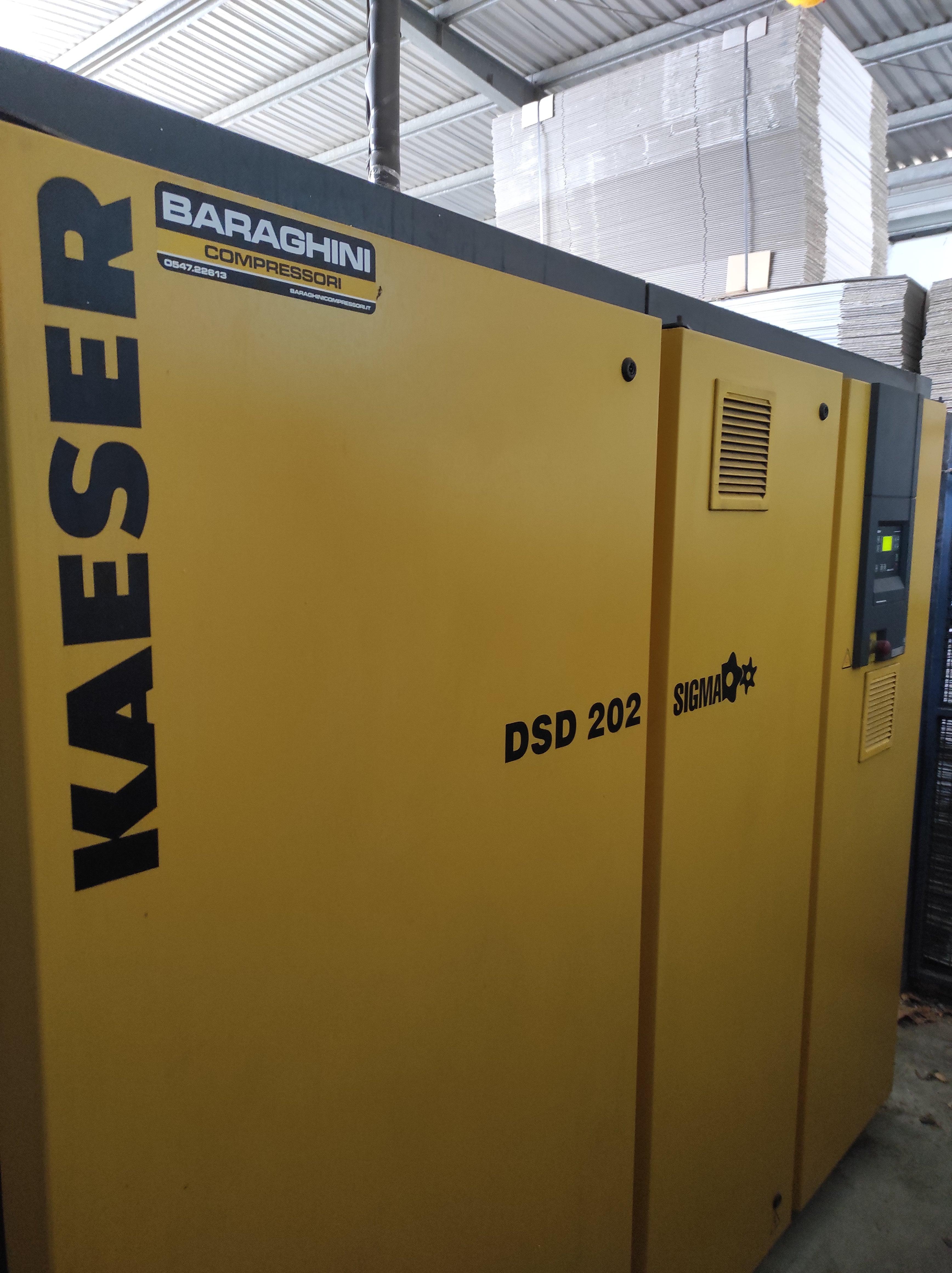 Compressore Kaeser DSD202 SFC - 110KW - Inverter in vendita - foto 2