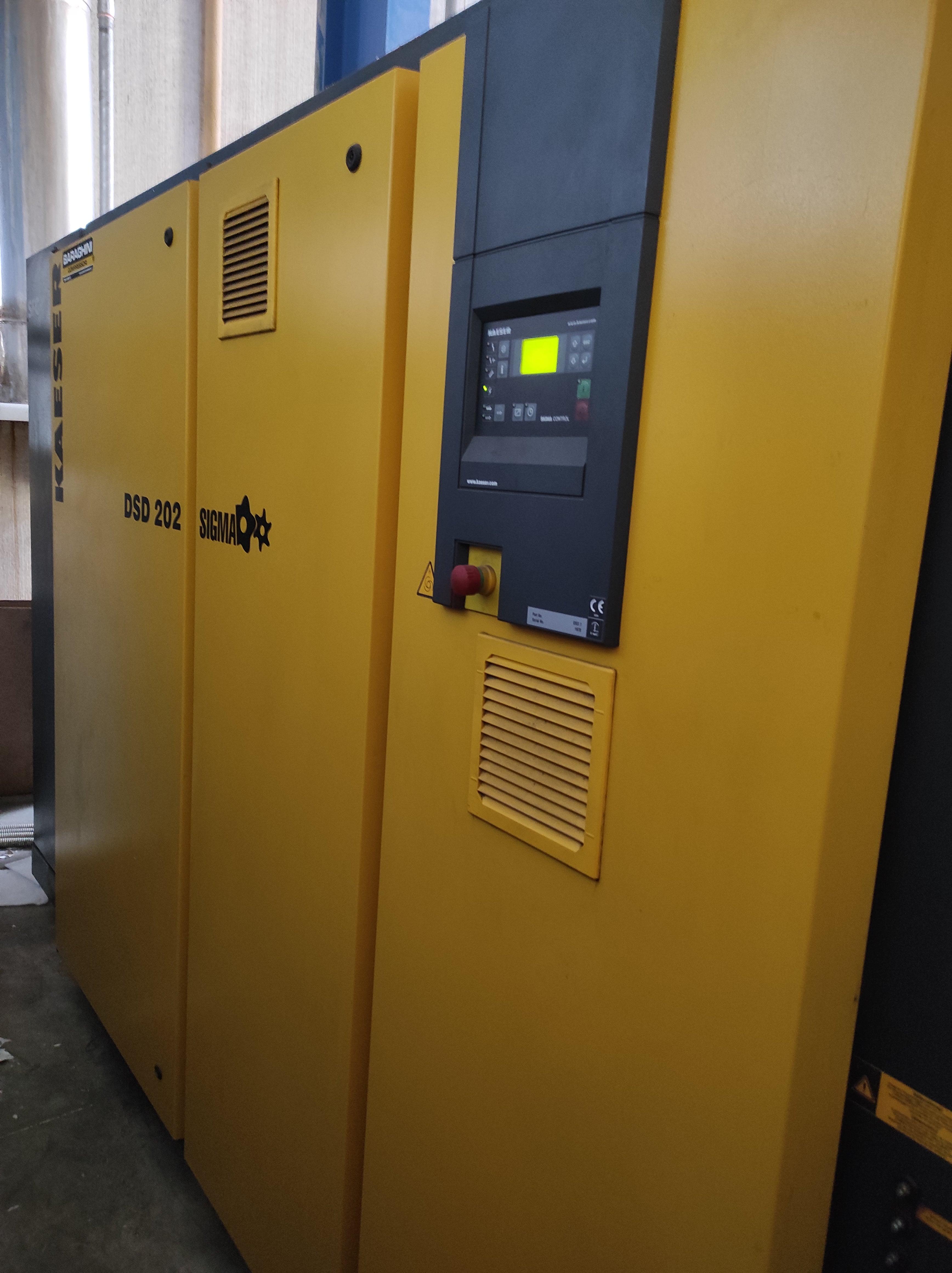 Compressore Kaeser DSD202 SFC - 110KW - Inverter in vendita - foto 1