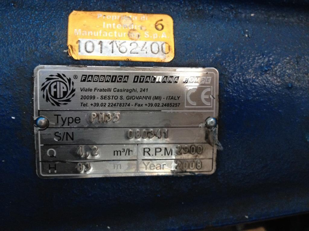 POMPA CENTRIFUGA FABBRICA ITALIANA POMPE – PM35(POM-35) in vendita - foto 7