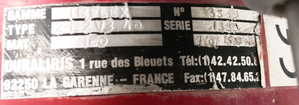 POMPA GIRANTE FLESSIBILE – DURALIRIS – IRFLEX (POM-124) in vendita - foto 8