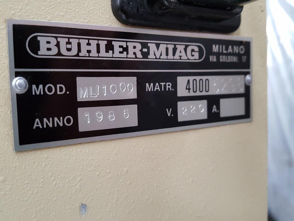 TERMOBILANCIA A TORSIONE BUHLER MIAGMLI 1000 (BIL-10) in vendita - foto 8