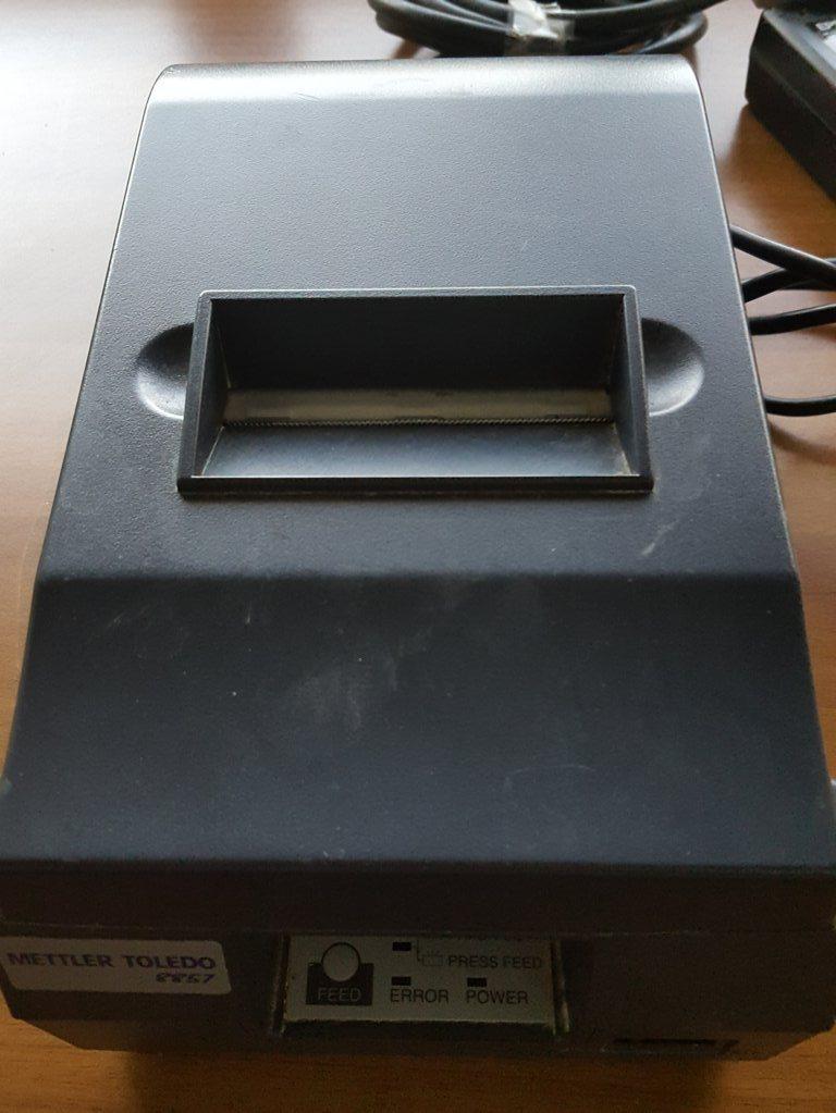STAMPANTE A NASTRO – METTLER TOLEDO  (STA-15) in vendita - foto 1