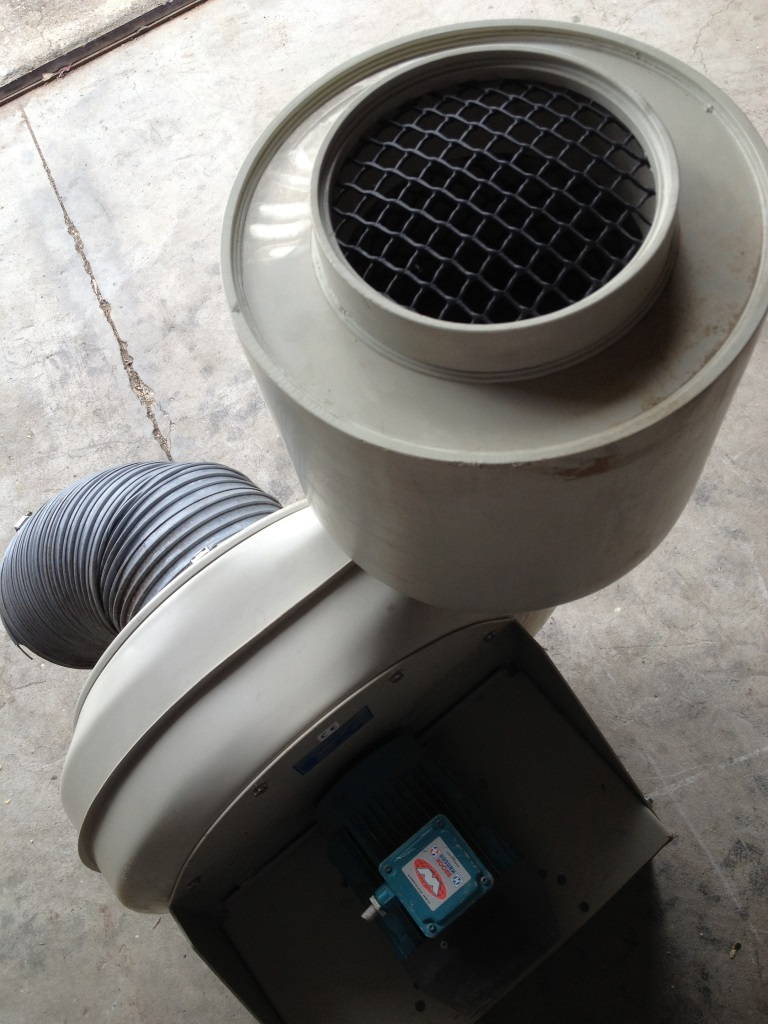 SOFFIANTE DI PLASTICA IND. SIFAT CMV250/200 (TUR-3) in vendita - foto 4