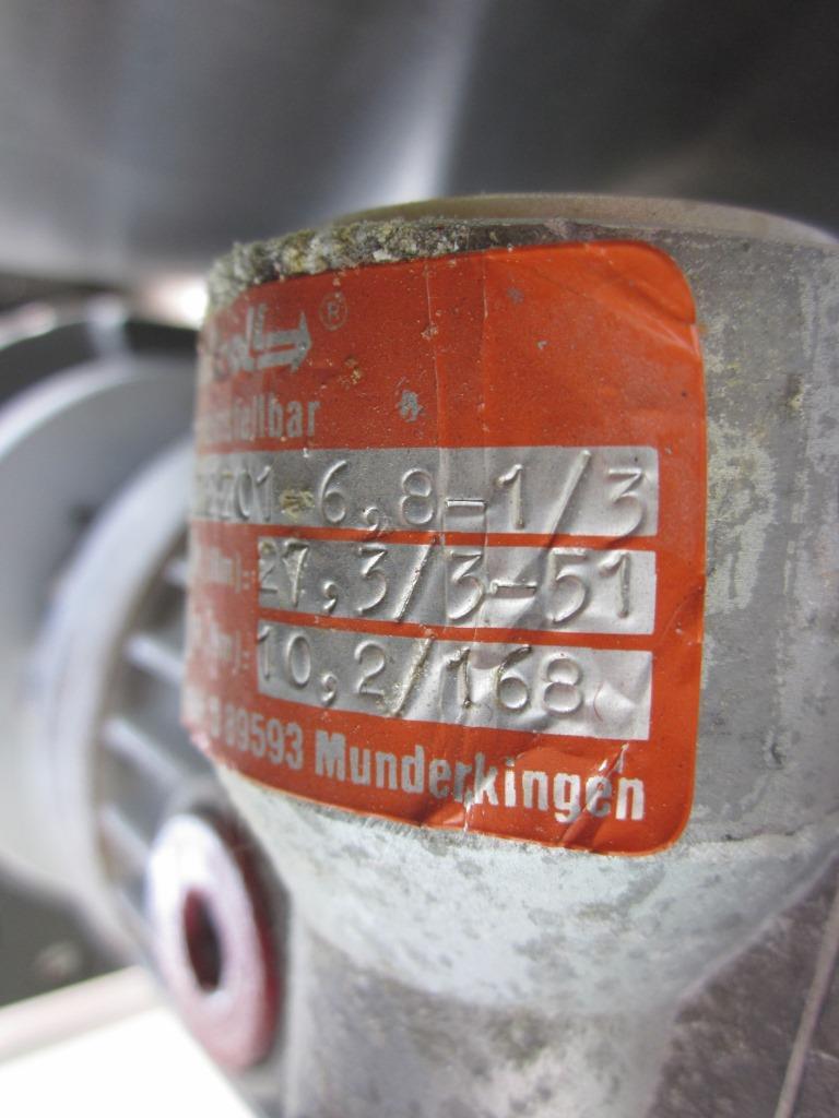 POMPA PERISTALTICA CON MOTORE – STAHL (COD.POM-46) in vendita - foto 11
