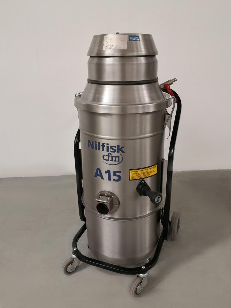 ASPIRATORE AD ARIA COMPRESSA – NILFISK CFM A15 (ASP-41) in vendita - foto 3