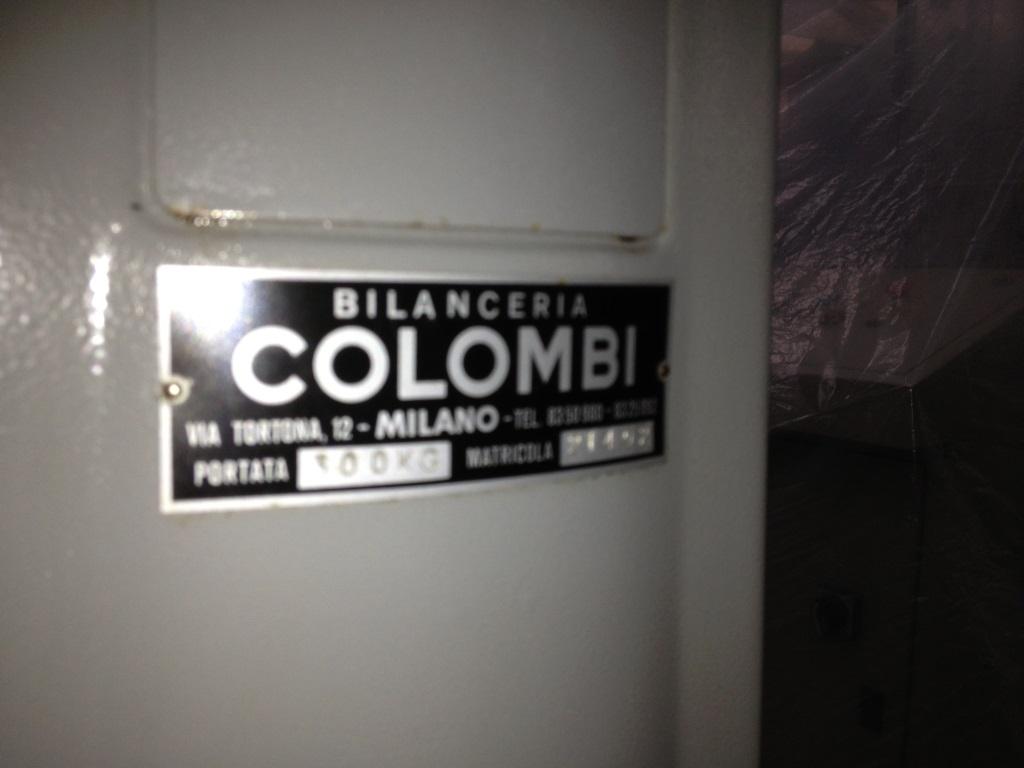 BILANCIA PAVIMENTO APP. PES. A QUAD. COLOMBI (BIL-27) in vendita - foto 6