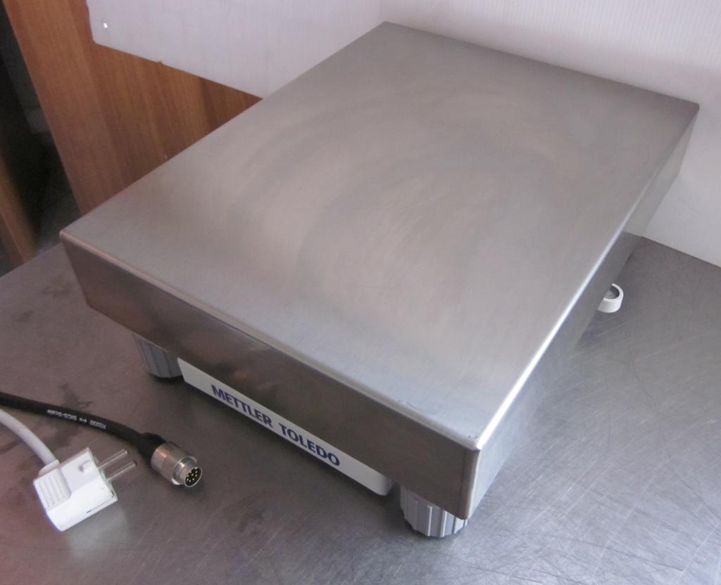 PIATTAFORMA E BILANCIA METTLER TOLEDO X32001L (BIL-43) in vendita - foto 3