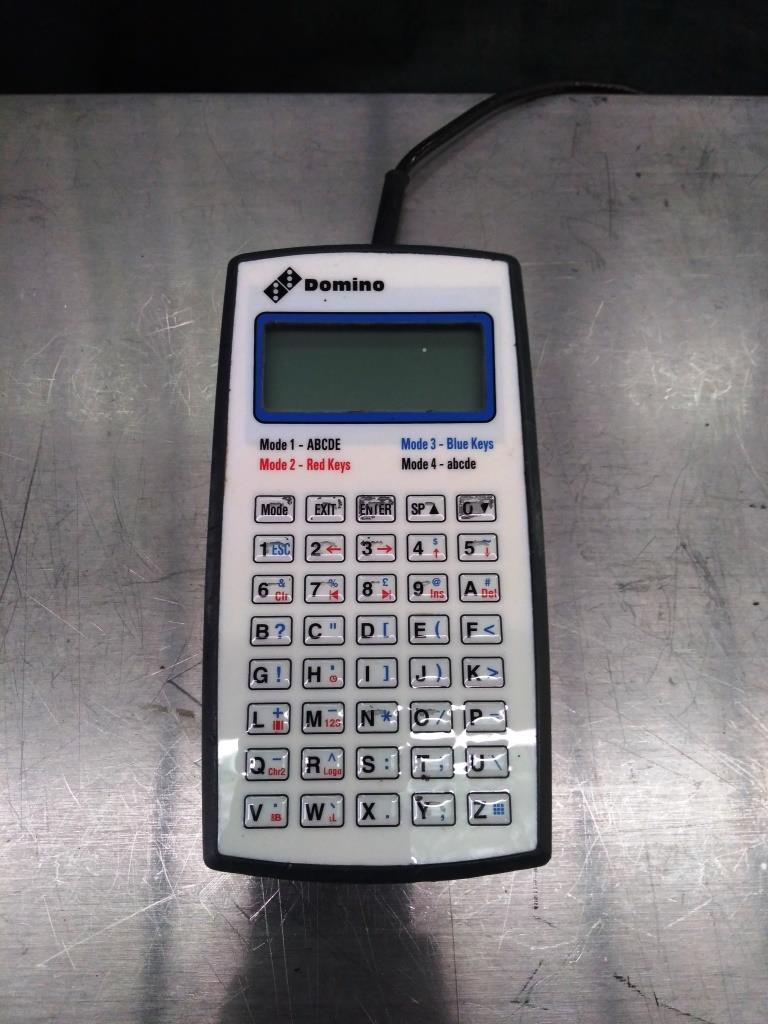 STAMPANTE GETTO INK – DOMINO SOLO 5 AUTO (STA-31) in vendita - foto 9