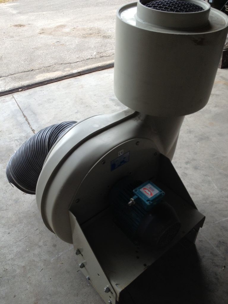 SOFFIANTE DI PLASTICA IND. SIFAT CMV250/200 (TUR-3) in vendita - foto 2