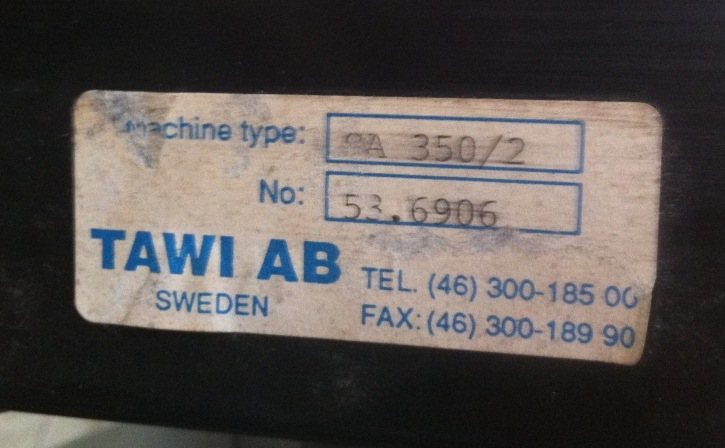 TURBOSOFFIANTE TAWI AB – MOD. SA 350/2 (TUR-1) in vendita - foto 6