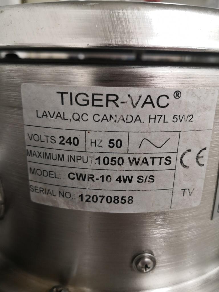 ASPIRATORE SECCO LIQUIDI – TIGER-VAC CWR-10 4W (ASP-42) in vendita - foto 7