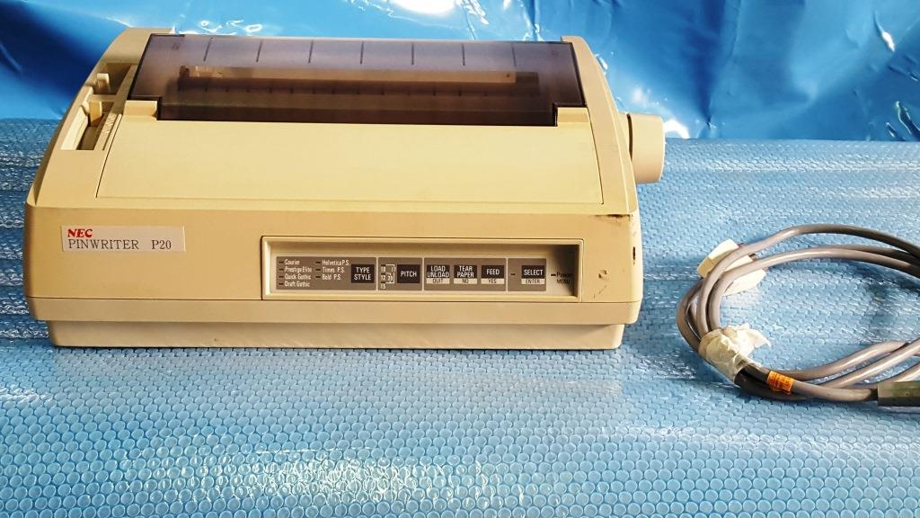 STAMPANTE AD AGHI – NEC – MOD. PINWRITER P20 (STA-19) in vendita - foto 2