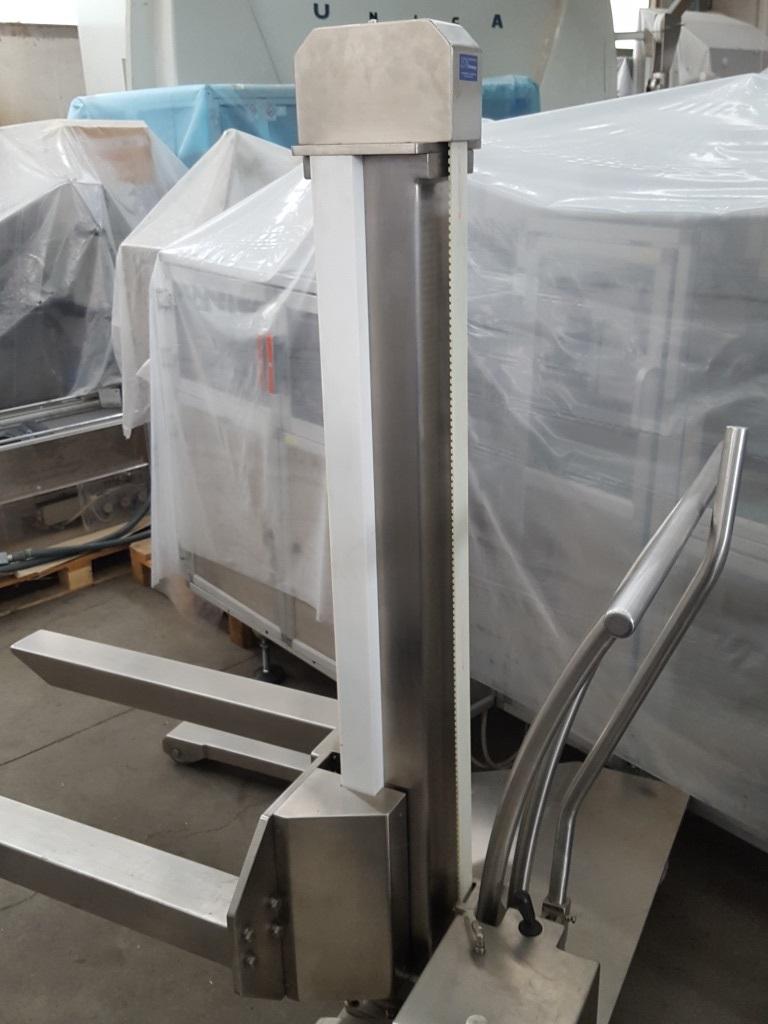 CARRELLO ELEVATORE PORTAFUSTI IDRAULICO–ISN TECHNOLOGY  in vendita - foto 4