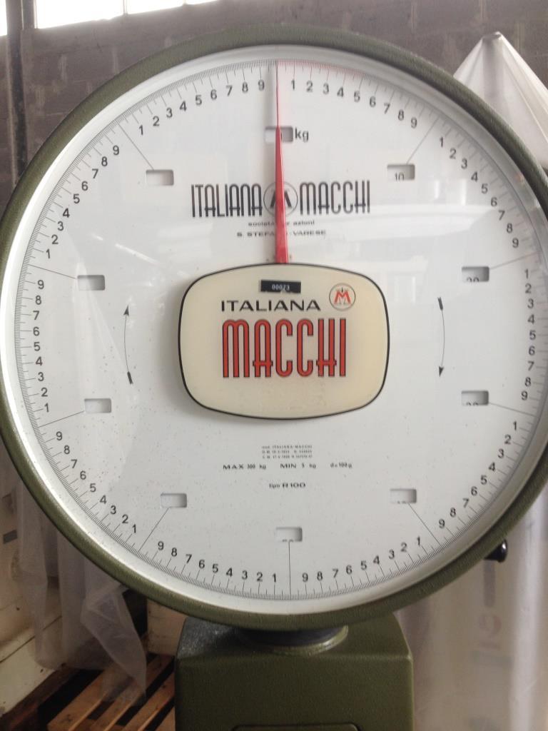 BILANCIA PAVIM. APP.PESATORE QUAD. MACCHI R100 (BIL-30) in vendita - foto 2