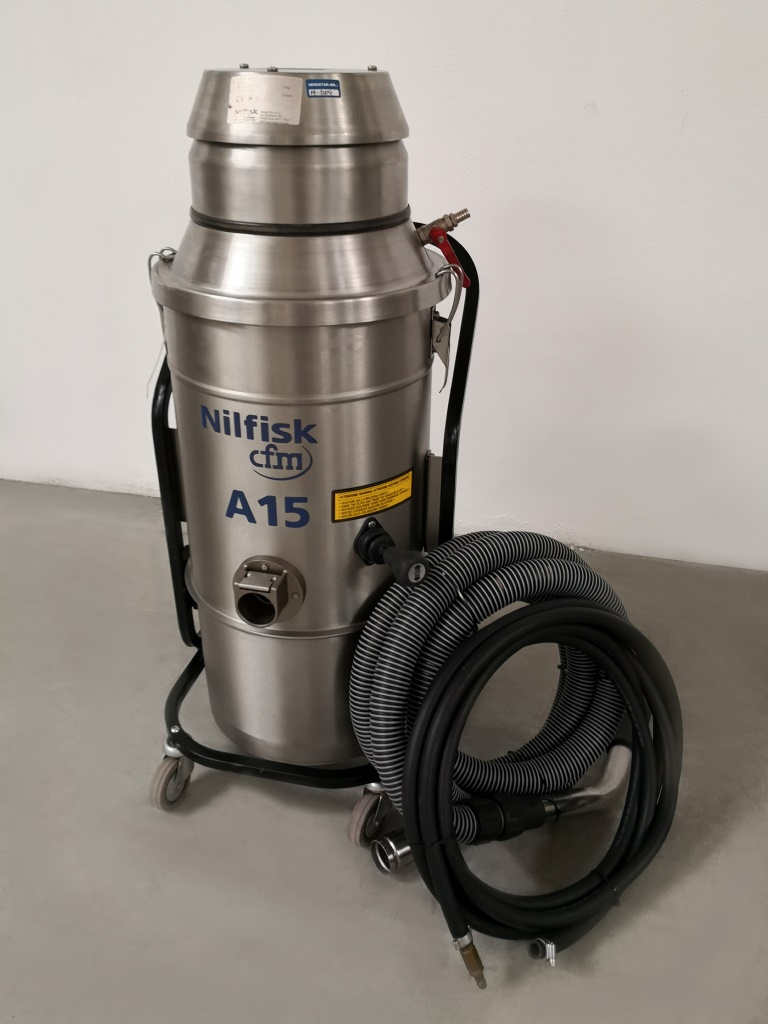 ASPIRATORE AD ARIA COMPRESSA – NILFISK CFM A15 (ASP-41) in vendita - foto 1