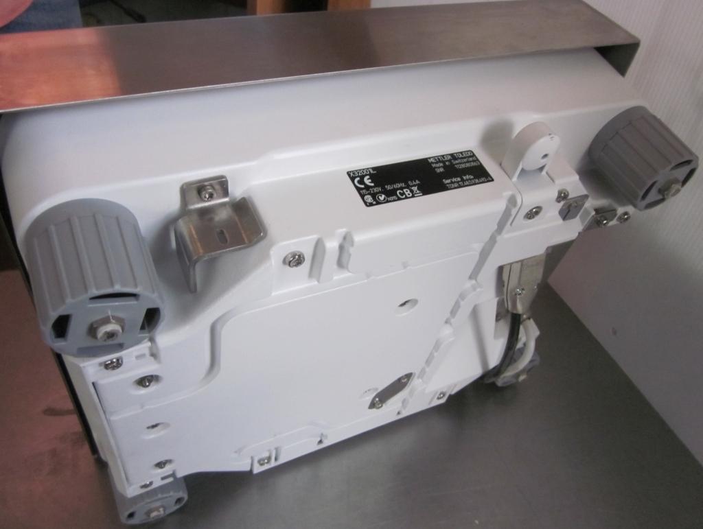 PIATTAFORMA E BILANCIA METTLER TOLEDO X32001L (BIL-43) in vendita - foto 4