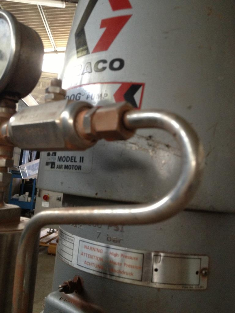POMPA GRACO BULLDOG MOD. 215 – 255 (COD. MF-PR-POM-34) in vendita - foto 6