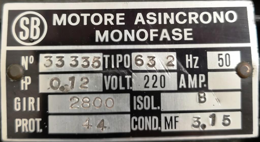MOTORE CC ECCITAZIONE SEP – D.SYSTEMS (COD. RIC-MOT-37) in vendita - foto 6