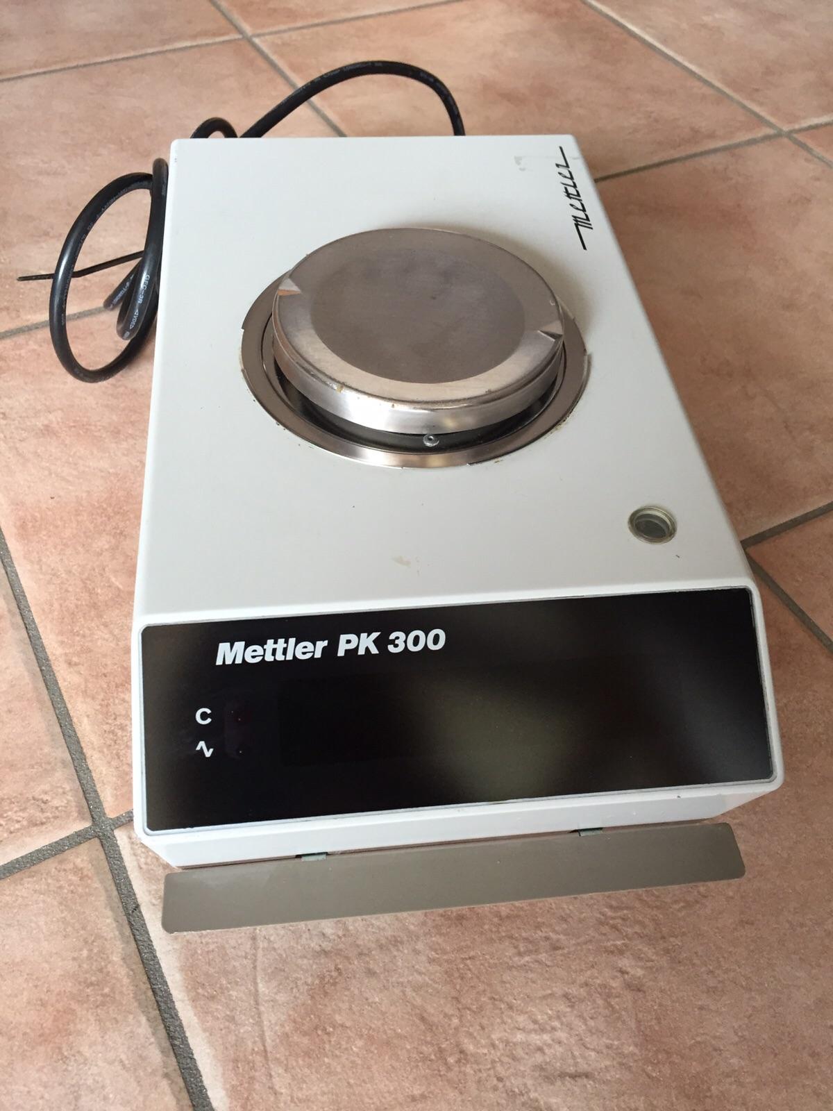 BILANCIA DA BANCO METTLER – MOD. PK300 (BIL-35) in vendita - foto 1