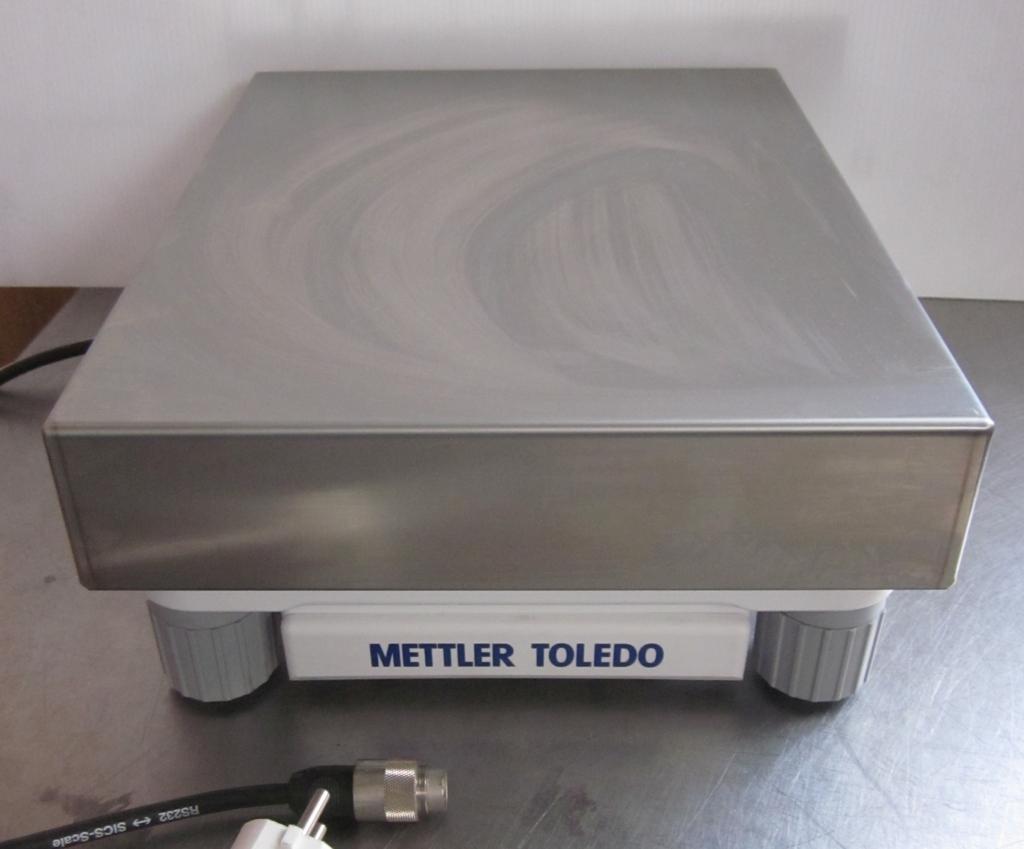 PIATTAFORMA E BILANCIA METTLER TOLEDO X32001L (BIL-43) in vendita - foto 1
