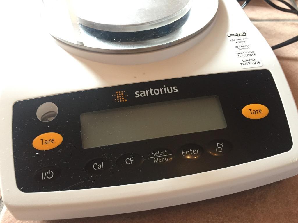 BILANCIA SARTORIUS – MOD. ENTRIS153-1S (COD. LAB-BIL-5) in vendita - foto 2