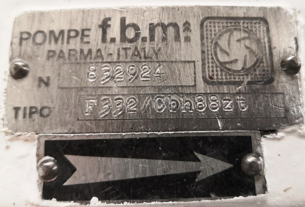 POMPA PISTONI CIRCONFERENZIALI – POMPE F.B.M. (POM-123) in vendita - foto 10