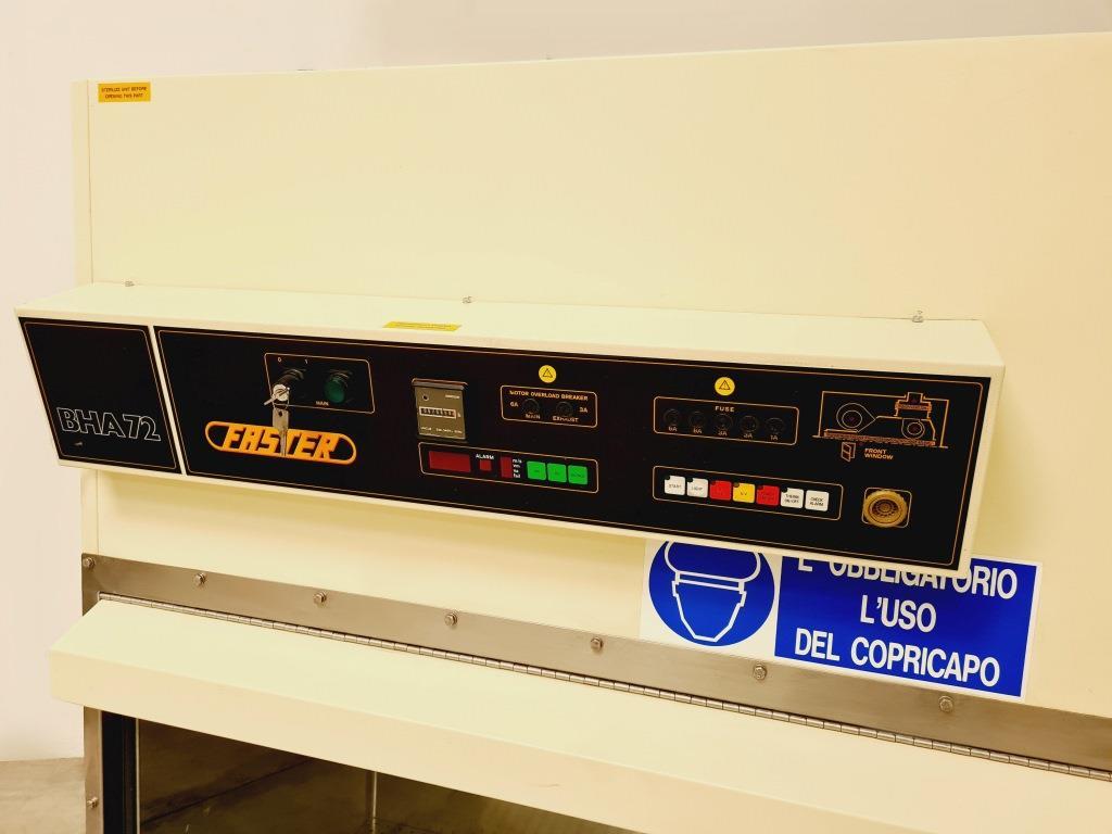 CAPPA FLUSSO LAMINARE VERTICALE FASTER BHA72M (CAP-15) in vendita - foto 2